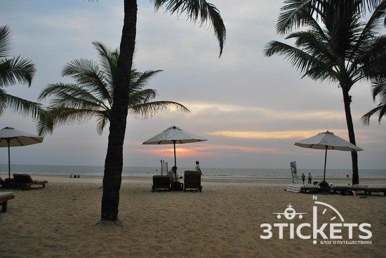 Пляж Бетул, Южное Гоа