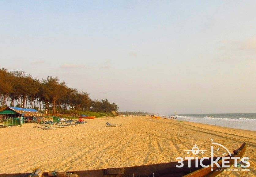 Пляж Беталбатим, Южное Гоа