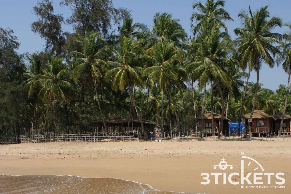 Пляж Полем, Южное Гоа