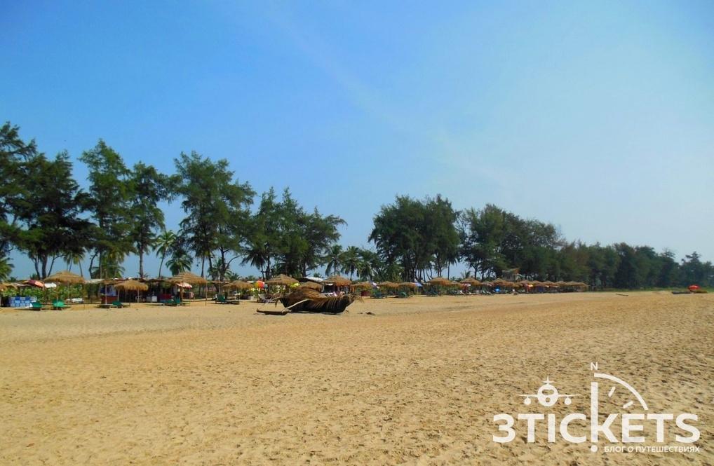 Пляж Раджбаг, Южное Гоа