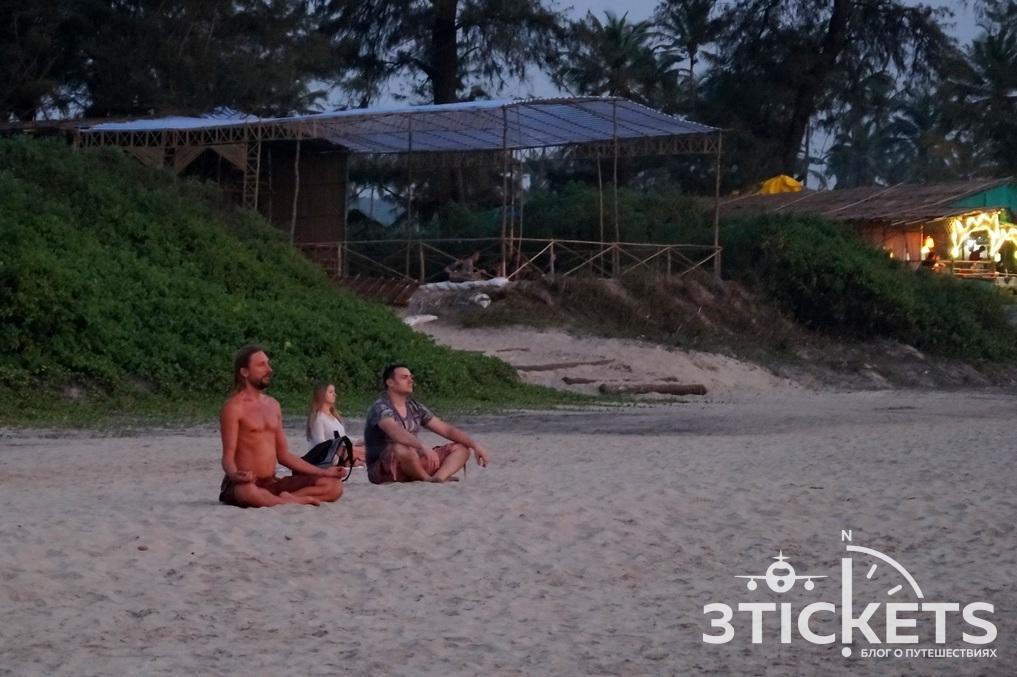 Пляж Арамболь, Северное Гоа, Индия