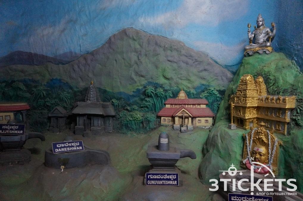Шива-Лингам в храме Мурдешвар