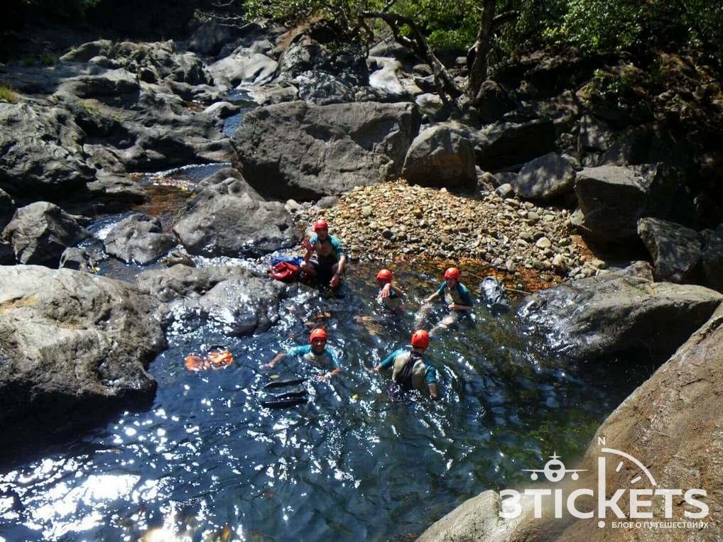 Каньонинг (экстрим трип в джунглях) в Гоа