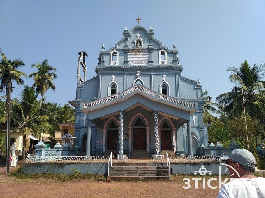 Баптистская церковь в Индии, штат Карнатака