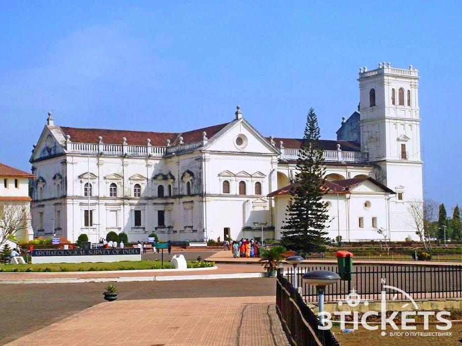 Собор Святой Екатерины (Se Cathedral), Старый Гоа, Индия
