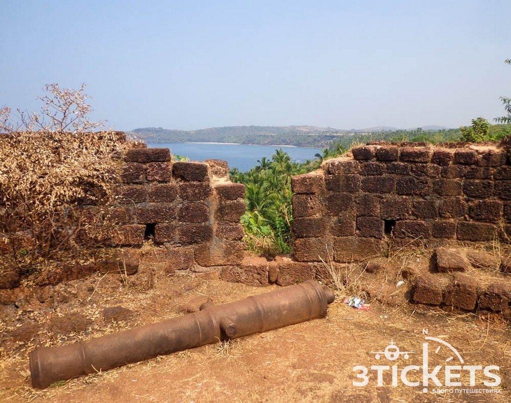 Форт Каб де Рама, Южное Гоа