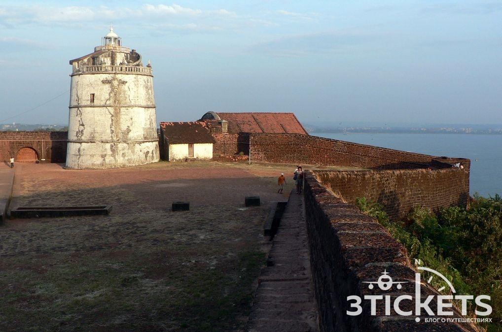 Форт Агуада, Гоа, Индия