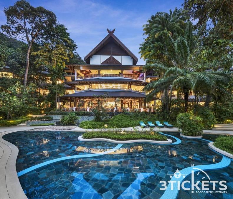 Отель на Лангкави The Andaman, aLuxury Collection