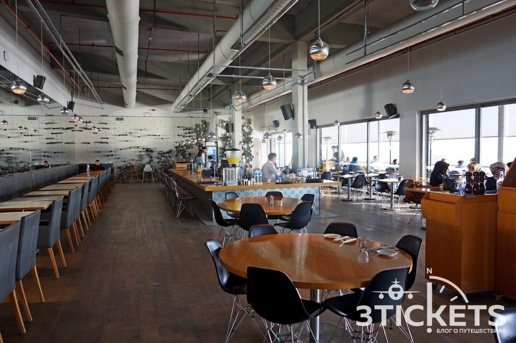 Музей современного искусства в Стамбуле: кафе