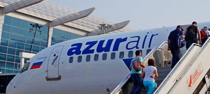 Авиакомпания Azur Air— наши отзывы оперелёте