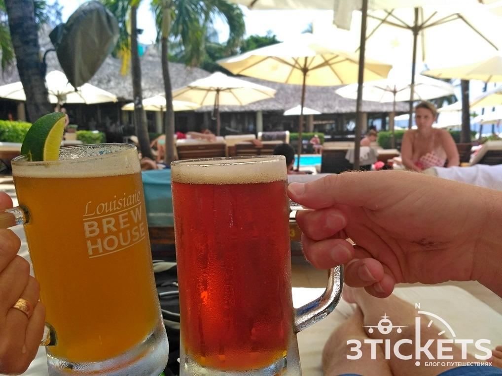 Разливное пиво в Нячанге