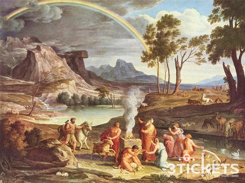 Картина Ноев ковчег и Арарат