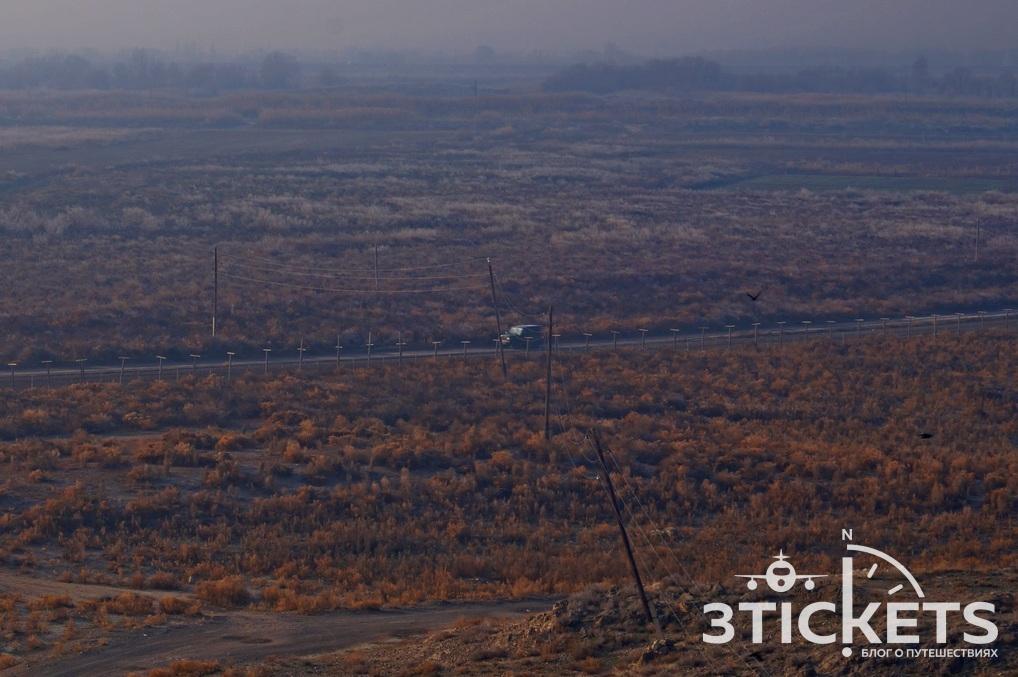 Граница Армении с Турцией, вид на Арарат