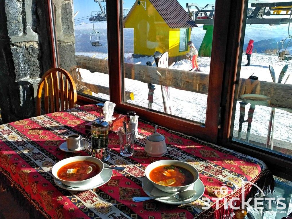 Горнолыжный курорт Цахкадзор: 2 очередь
