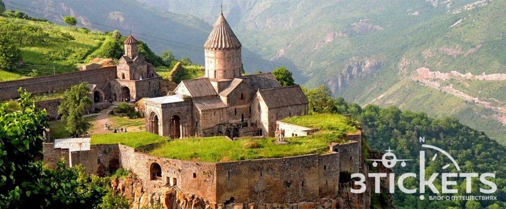 """Татевский монастырь в Армении и самая длинная канатная дорога в мире """"Крылья Татева"""""""