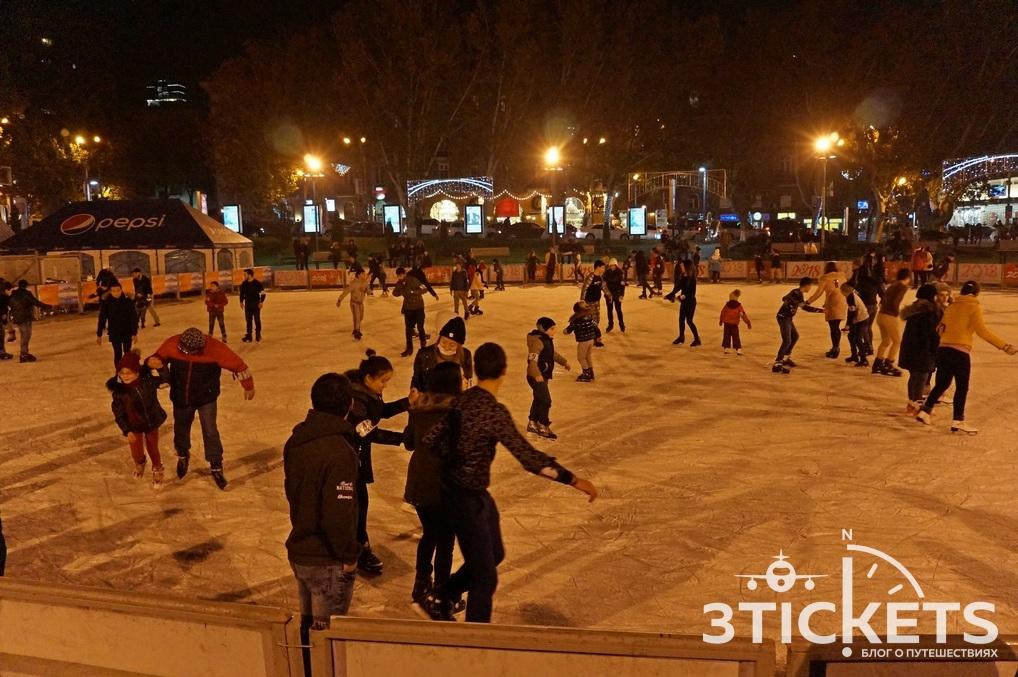 Новый год в Ереване