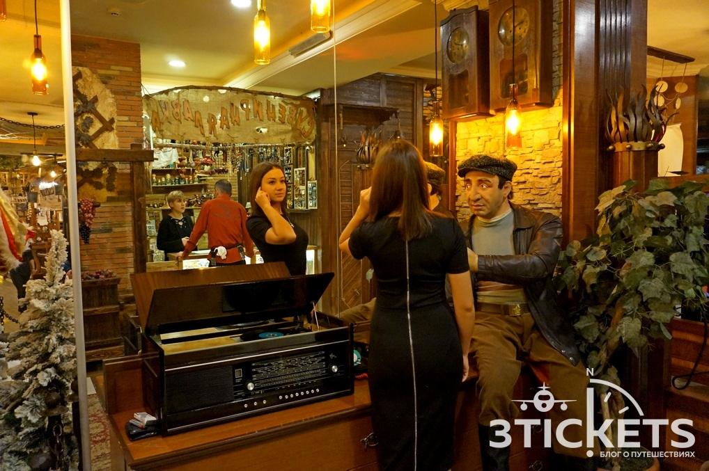 Рестораны в Ереване на Новый год: Кавказская пленница