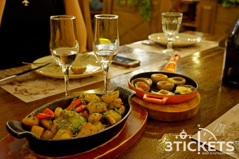 Цены в ресторанах Еревана