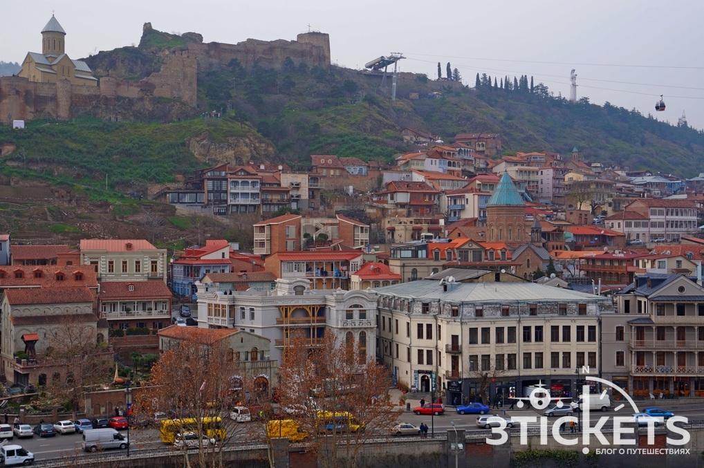 Церковь Метехи в Тбилисси