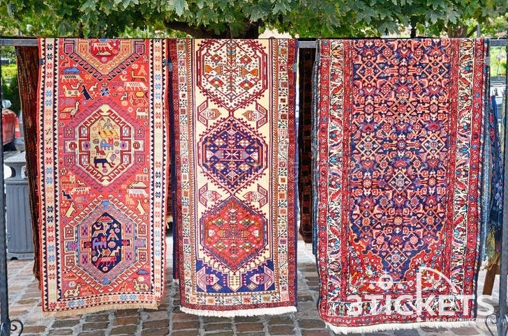 Что привезти из Грузии: безворсовые грузинские ковры пардаги