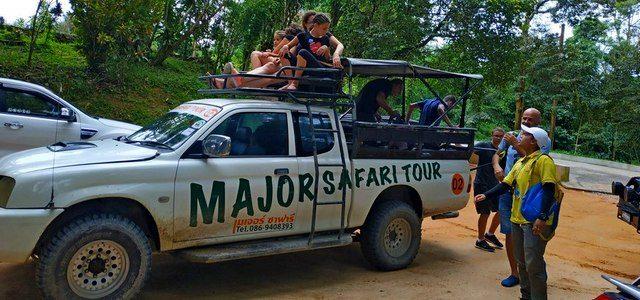 Лучшие экскурсии наСамуи: исследуем остров наджипах, квадроциклах, парашютах