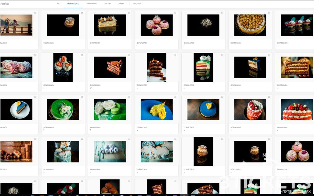 Фотографии на микростоках