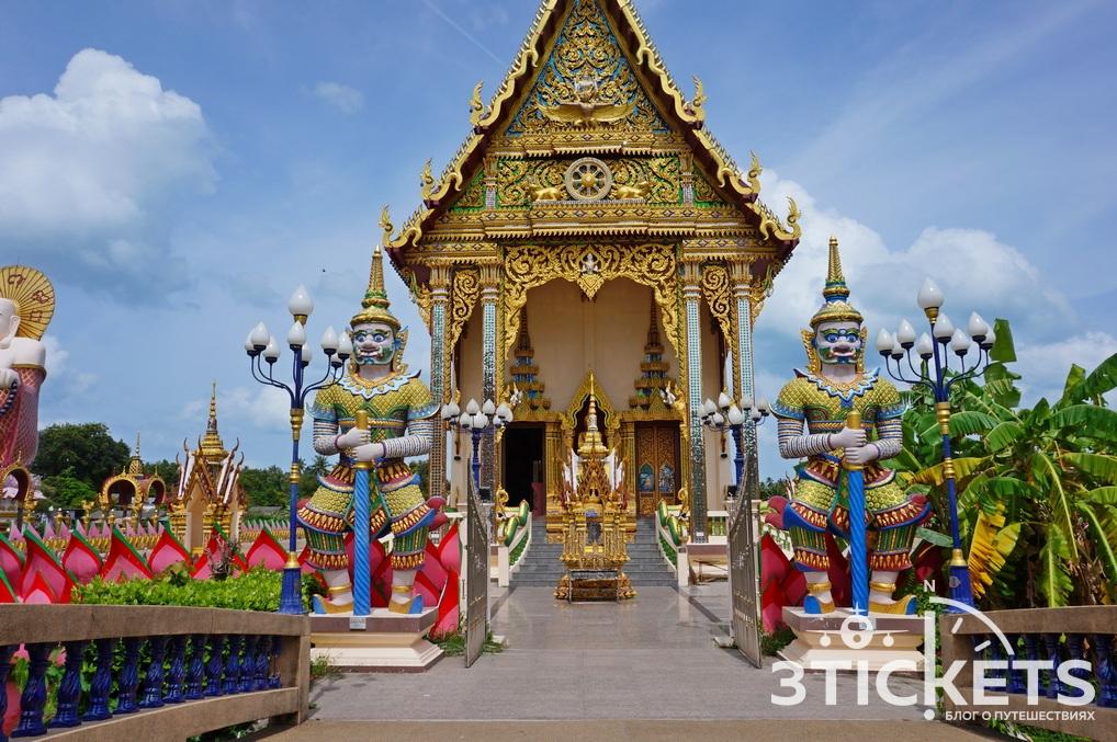Экскурсии на Самуи: буддистский храм Ват Плай Лаем