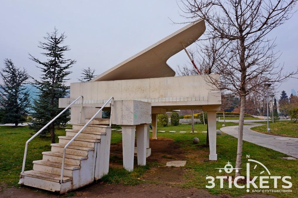 Погода в Тбилиси осенью и зимой