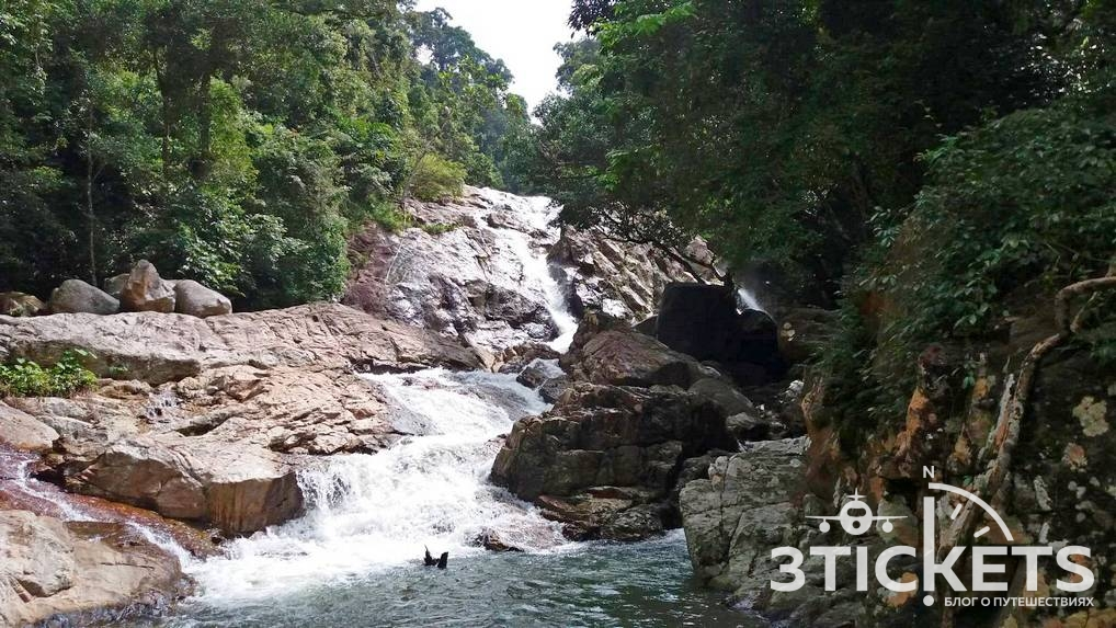 Достопримечательности Самуи: Водопад Хин Лад (Hin Lad Waterfall)