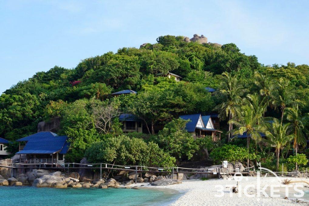 Остров Ко Нанг Юань в Таиланде