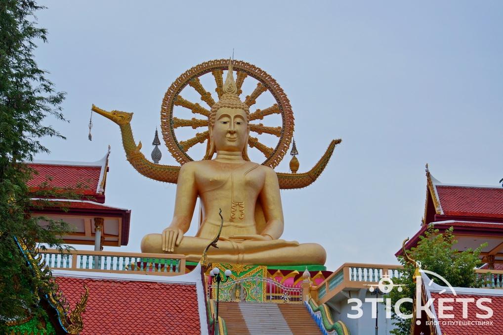 Достопримечательности Самуи: Большой сидящий Будда и статуя русалки