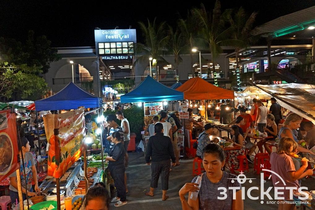 Ночные рынки на Самуи
