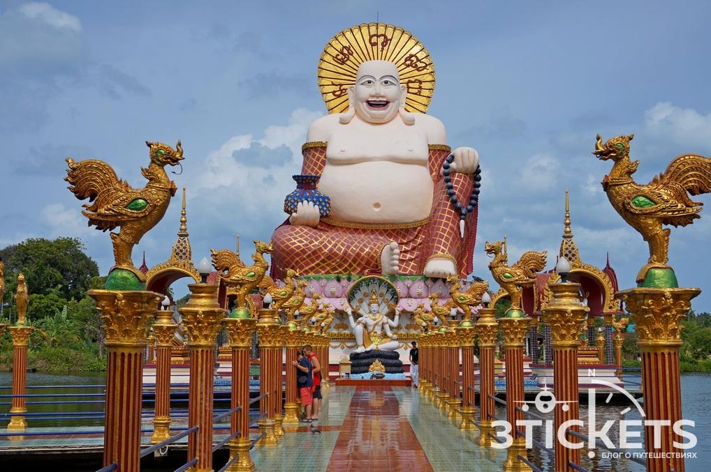 Достопримечательности Самуи: Буддистский храм Wat Plai Laem