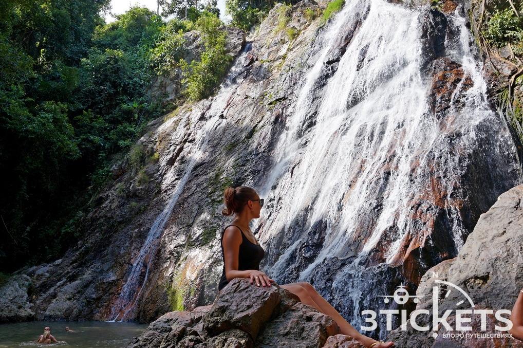 Достопримечательности Самуи: водопад Намуанг 1