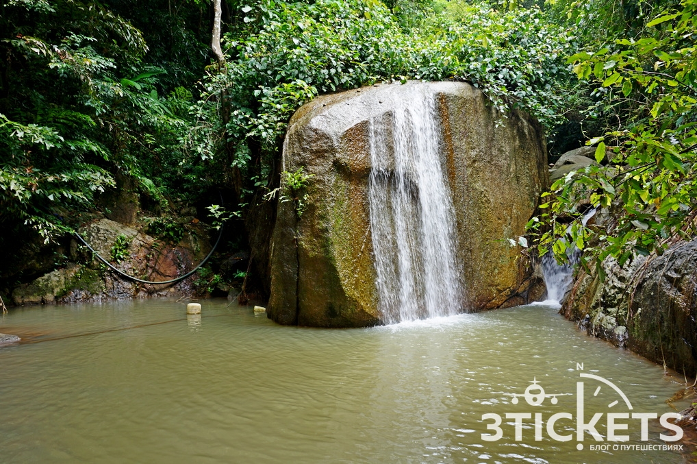 Водопады Wang Sao Thong иWang Knom Co
