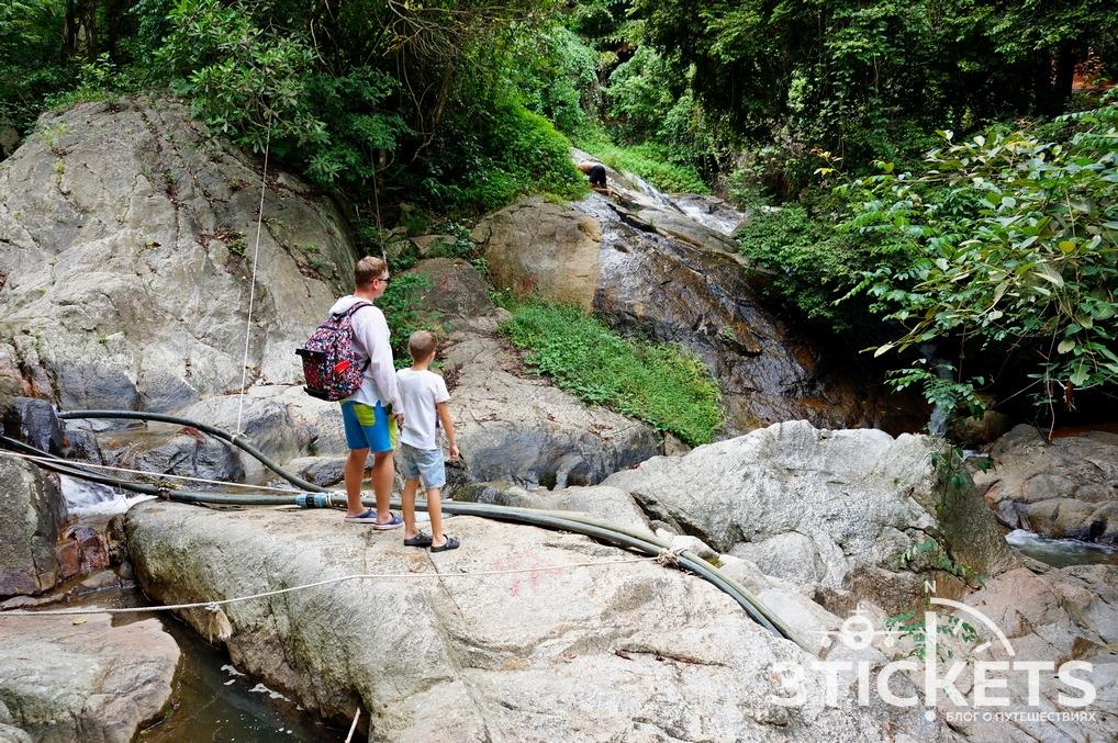 Достопримечательности Самуи: водопад Намуанг 2