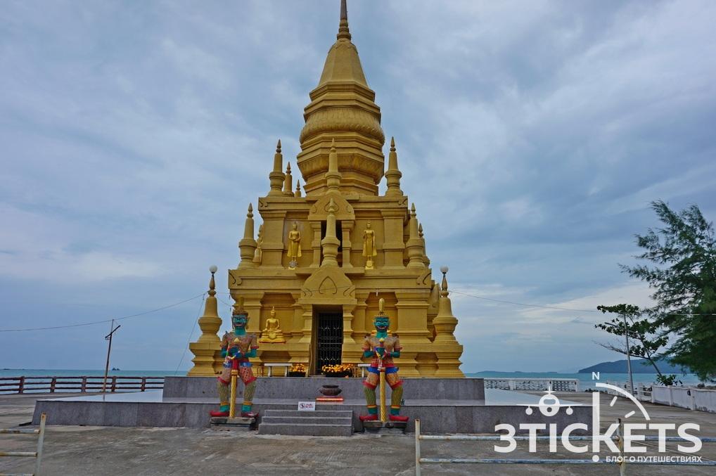 Достопримечательности Самуи: пагода Лаем Сор
