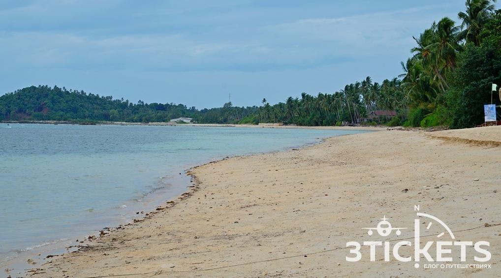 Пляж Талинг на Самуи