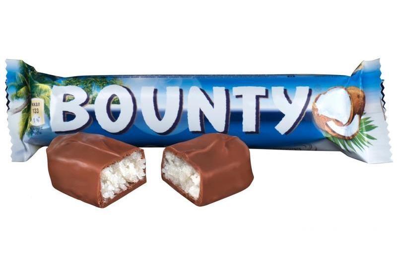 Шоколад Баунти - райское наслаждение