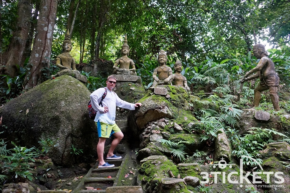 Магический сад Будды на Самуи