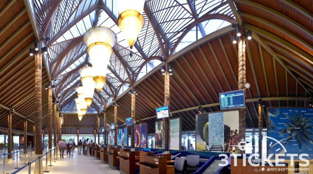 Samui International Airport, USM, Koh Samui, Thailand, ticket counter, info