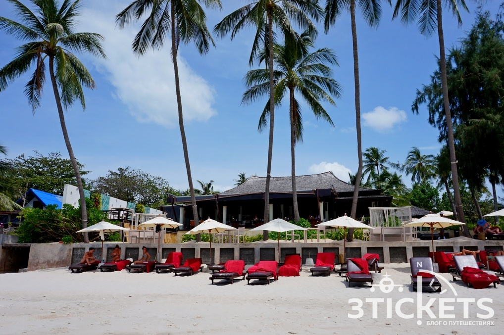 Пляж Тонгсон Бэй (Tongson Bay) на острове Самуи, Таиланд