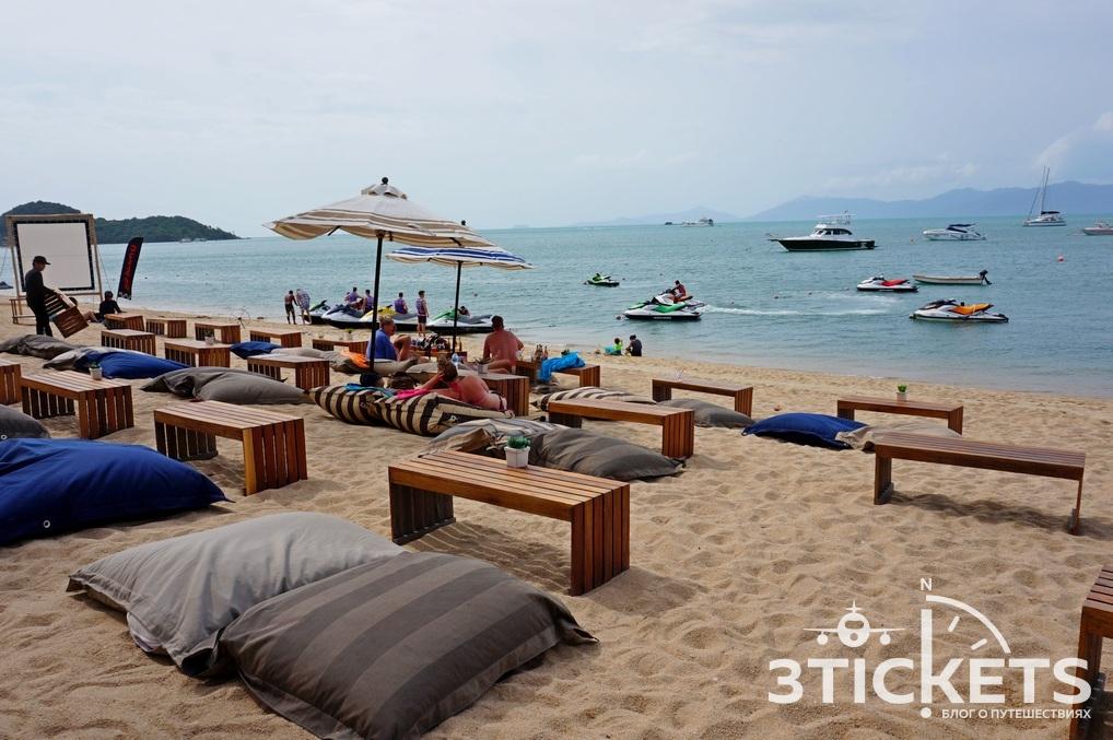 Пляж Бопут (Бо Пхут) на острове Самуи, Таиланд