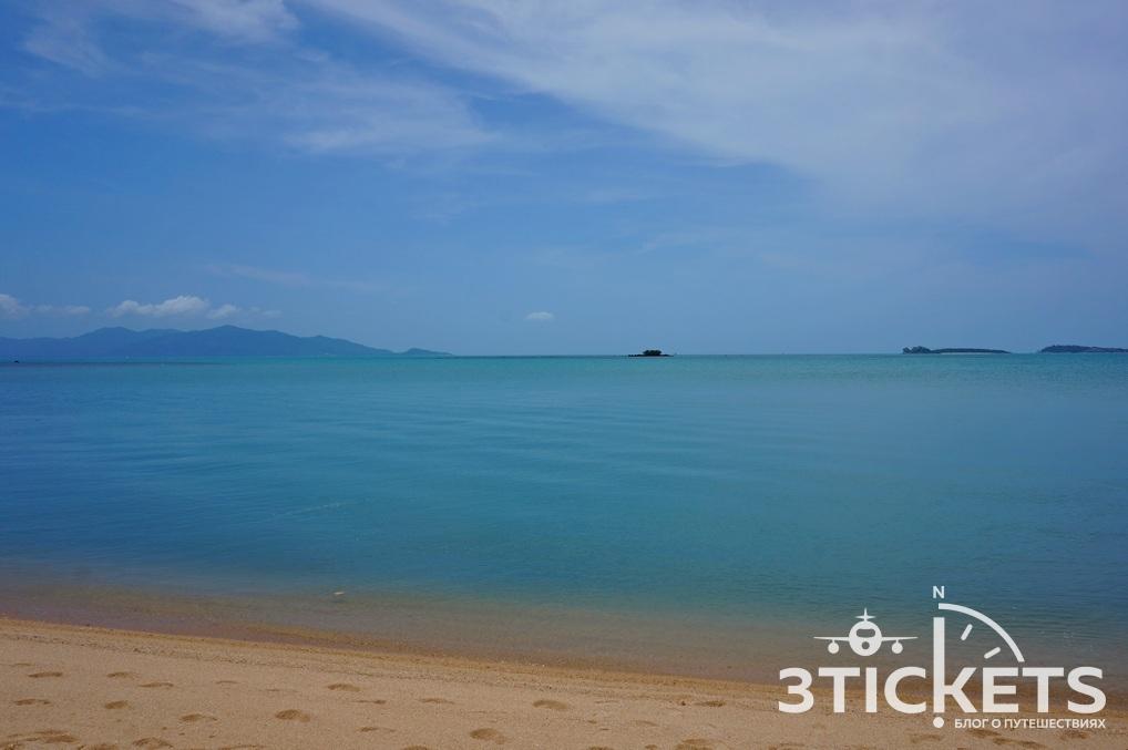 Пляж W на острове Самуи, Таиланд