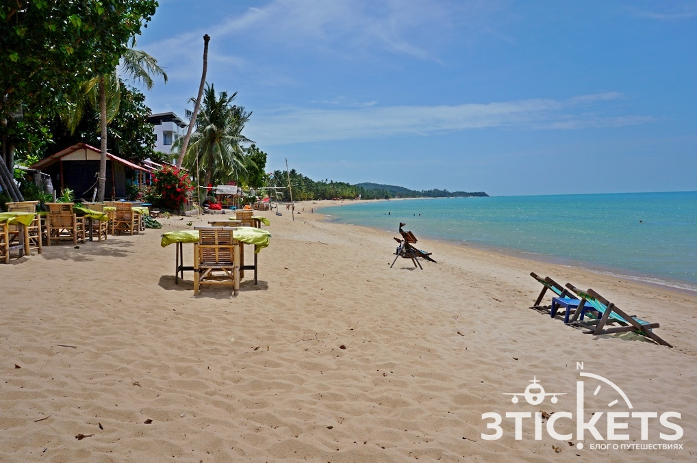 Пляж Маенам на Самуи, Таиланд