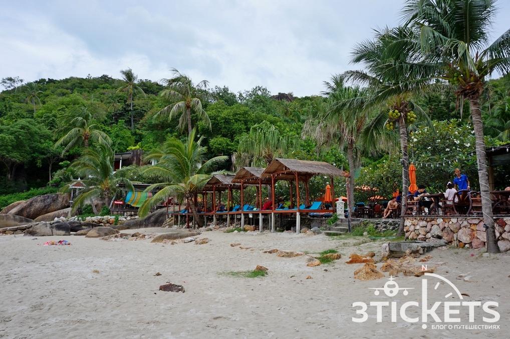 Пляж Сильвер Бич на Самуи, Таиланд