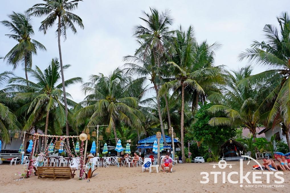 Пляж Корал Ков (Coral Cove) на Самуи