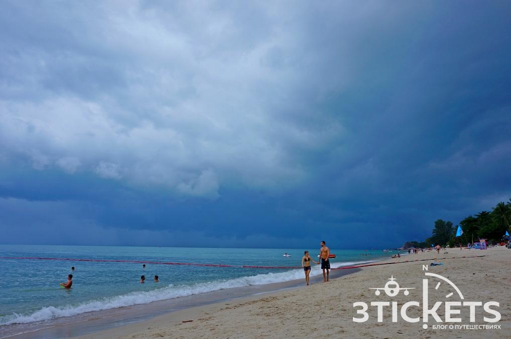 Пляж Талинг Нгам на Самуи (Таиланд)
