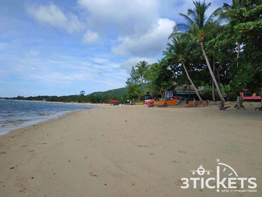 Пляж Ламаи на Самуи, Таиланд