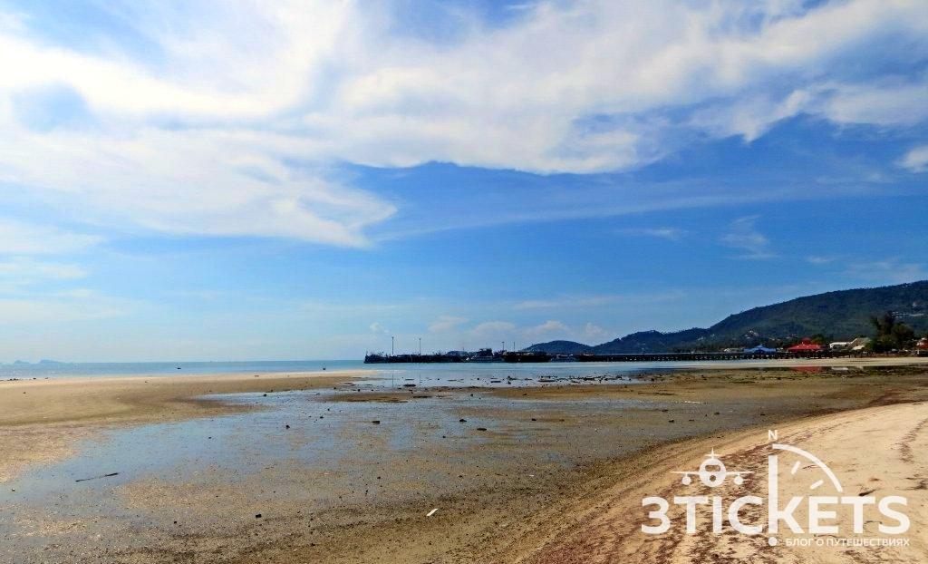 Пляж Натон, Самуи